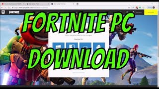 HOW TO DOWNLOAD FORTNITE ON YOUR LAPTOP/PC IN 2019 EASY