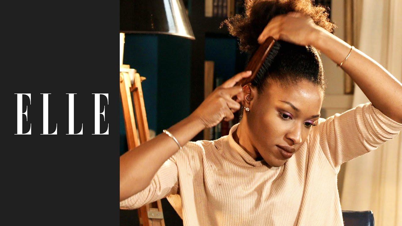 prix plancher quantité limitée vente officielle Comment plaquer ses cheveux crépus┃ELLE Beauté