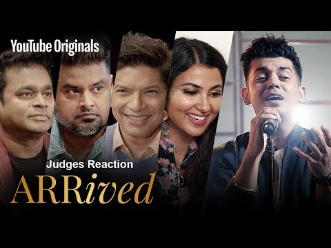 Judges Reaction | Sam Chandel | #ARRivedSeries