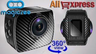 mAGICSEE P3 360 Panoramic Action Camera - экшн-камера с обзором 360 с Алиэкспресс, видеообзор
