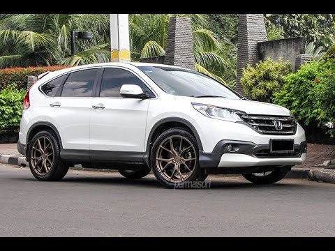 CONTOH MODIFIKASI VELG Honda ALL NEW CR-V Jadi GAUL - YouTube