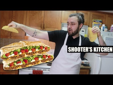 SHOOTER'S KITCHEN: DIY TACO BELL CRUNCH WRAP SUPREME!