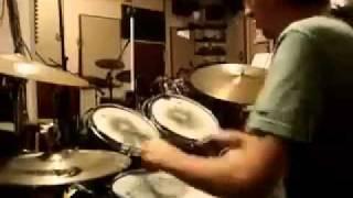 brush solo over samba ostinato by Brian Knave