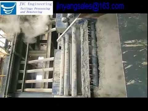 Dry Tailings Application in Yanshan Steel Site,China