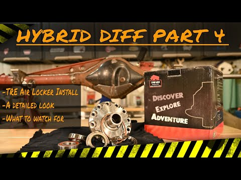 Suzuki Samurai Hybrid Diff Part 4: Installing the TRE Air Locker