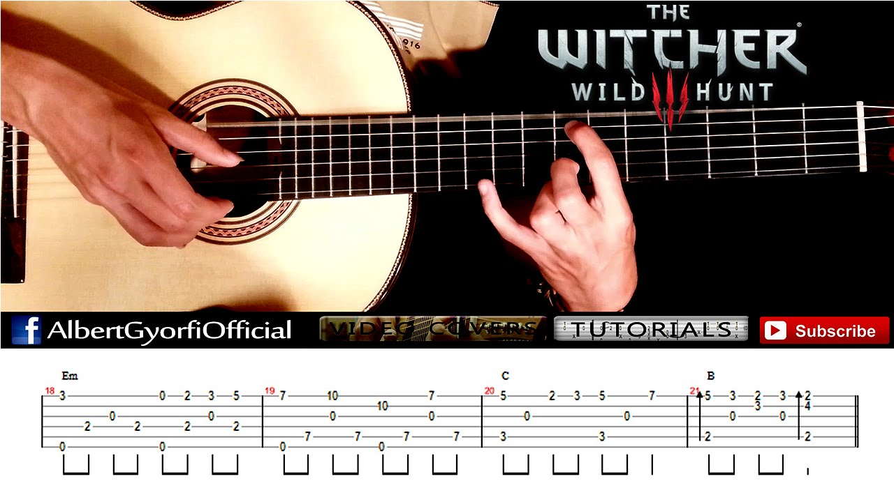 The witcher 3 the wolven storm guitar tab