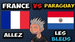 🔴 FRANCE VS PARAGUAY -  MATCH DÉCISIIF  - WORLD ROYALE LEAGUE - CLASH ROYALE  🔴