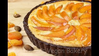 Vegan Apricot Frangipane Tart  Gretchens Vegan Bakery