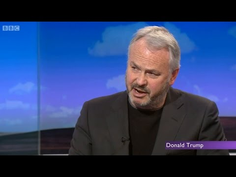 Tim Marshall discusses Donald Trump and Russia on the Daily Politics
