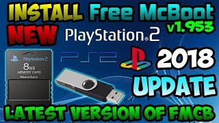 [PS2] Install the latest version of FreeMcBoot [2018] 🎮