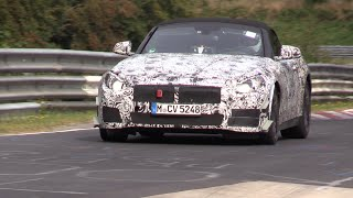 2018 BMW Z5 Testing On The Nurburgring!