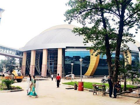 Gyan Bhawan and Convention Hall Patna Inside and Outside || Badalta Bihar