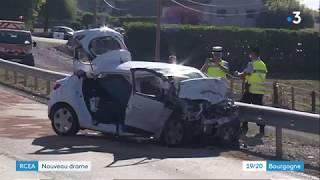 Saône-et-Loire : deux morts dans un accident entre un car et une voiture sur la RCEA