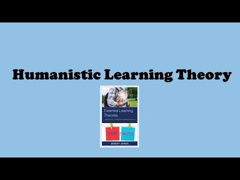 HUMANISTIC LEARNING THEORY: OVERVIEW