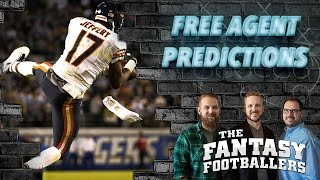 Fantasy football 2017 - free agency predictions, fantasy implications - ep. #357