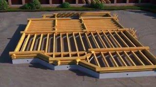 видео Строительство деревянного дома. Что должен знать заказчик