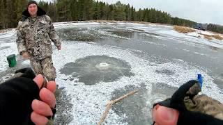 Первый лед 2019 2020 Рыбалка на реке Ветлуга