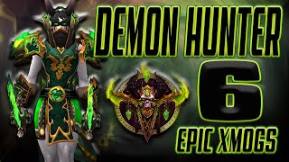 World Of Warcraft Bfa 6 Unique Demon Hunter Transmog Sets Youtube