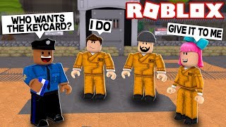 PRANKING CRIMINALI IN ROBLOX JAILBREAK