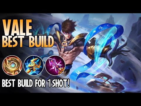 Vale Best Build | Top 1 Global Vale Build Guide | Vale Gameplay - Mobile Legends: Bang Bang