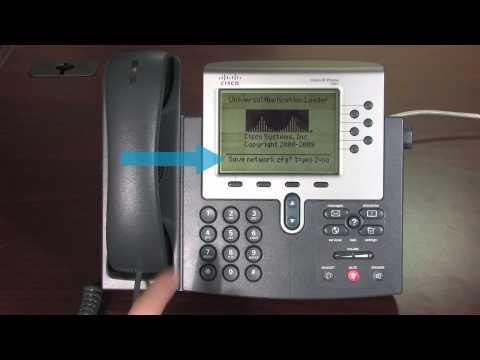Voice Cisco IP Phone troubleshooting