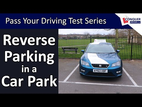 how-to-reverse-park-in-a-car-park---bay-parking---short-version
