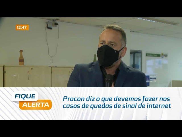 Procon diz o que devemos fazer nos casos de quedas de sinal de internet e telefonia em Maceió