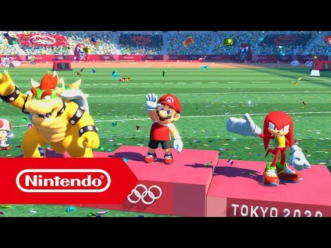 Mario & Sonic aux Jeux Olympiques de Tokyo 2020 - Bande-annonce de l'E3 2019