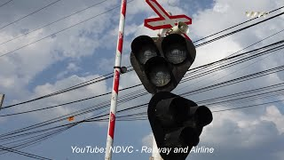 RAILROAD CROSSING | ĐOÀN TÀU SE1O SAIGON - HANOI QUA CHẮN TỰ ĐỘNG PHÚ SƠN ĐỒNG NAI (18/08/2019)