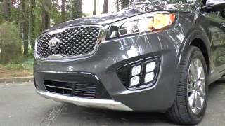 Best Detailed Walkaround 2017 Kia Sorento SXL V6 AWD