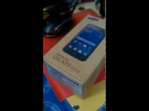 แกะกล่องSamsung Galaxy Ace 4