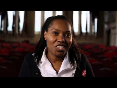 Lizette's Testimony on becoming A Salvation Army Officer