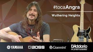 #TocaAngra | Wuthering Heights - Angra (aula de violão)