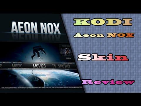 KODI MC Aeon Nox Skin Review