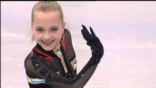 Elena RADIONOVA 2013 SP Russian Nationals