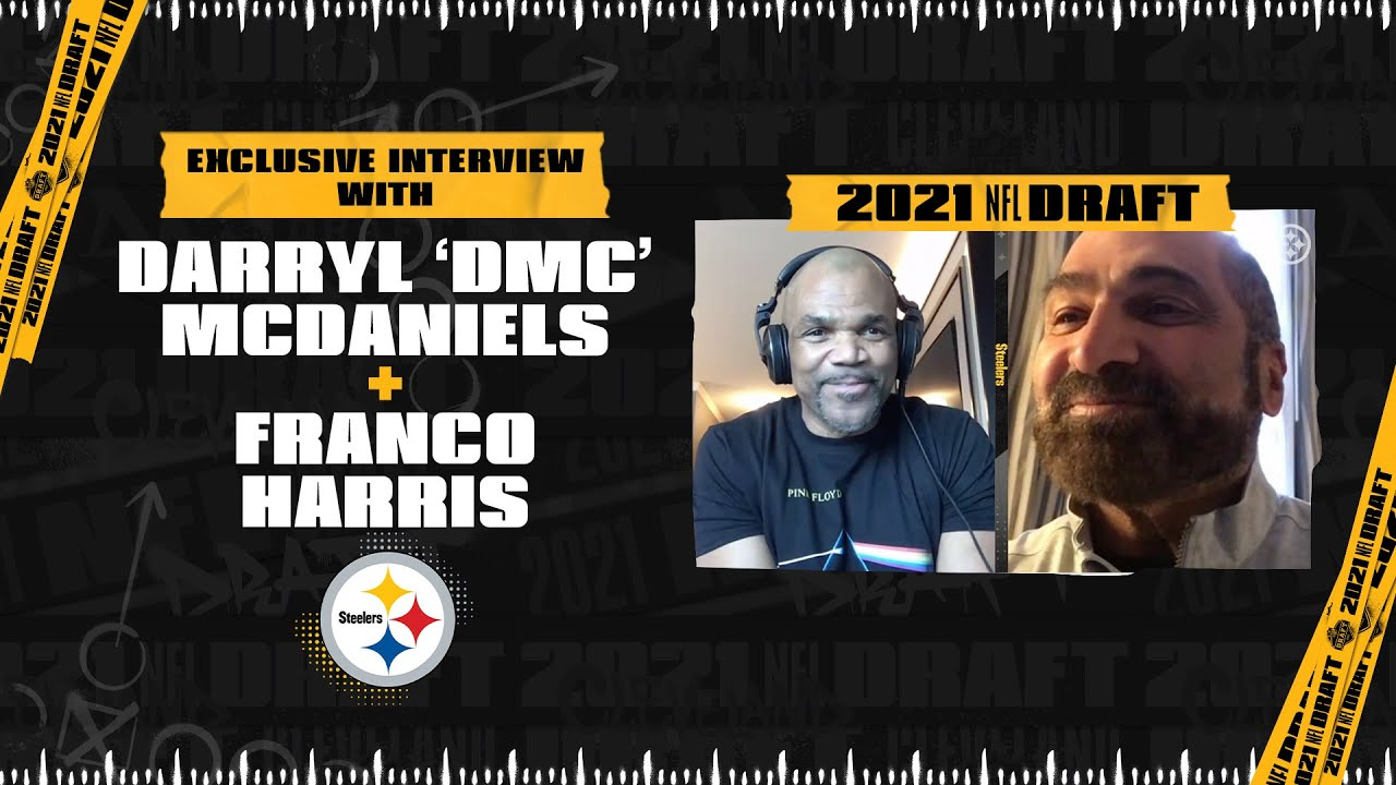 EXCLUSIVE Interview with Darryl 'DMC' McDaniels & Franco Harris |  Pittsburgh Steelers - YouTube