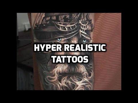 Hyper Realistic Tattoos HD - Amazing Tattoos - Good Tattoo Ideas