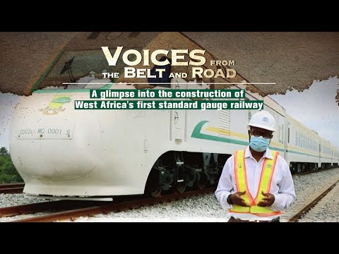 A glimpse of the construction of West Africa's first standard gauge railway