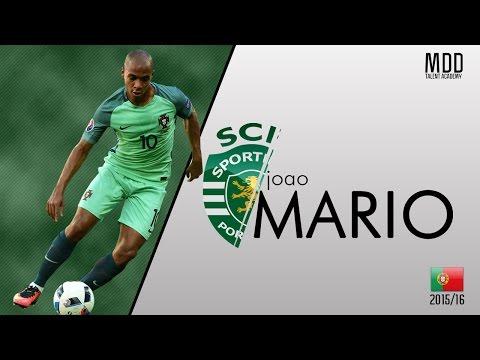 Joao Mario | Sporting CP | Goals, Skills, Assists | 2015/16 - HD