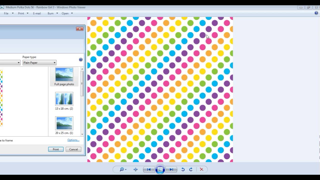 how to print 12 x 12 inch digital scrapbooking paper onto letter