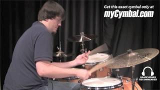 "Paiste 21"" Twenty Masters Dark Dry Ride Cymbal (5501721-1102011E)"