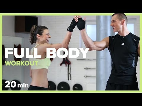 FULL BODY WORKOUT - 20 min | Szymon Gaś & Katarzyna Kępka
