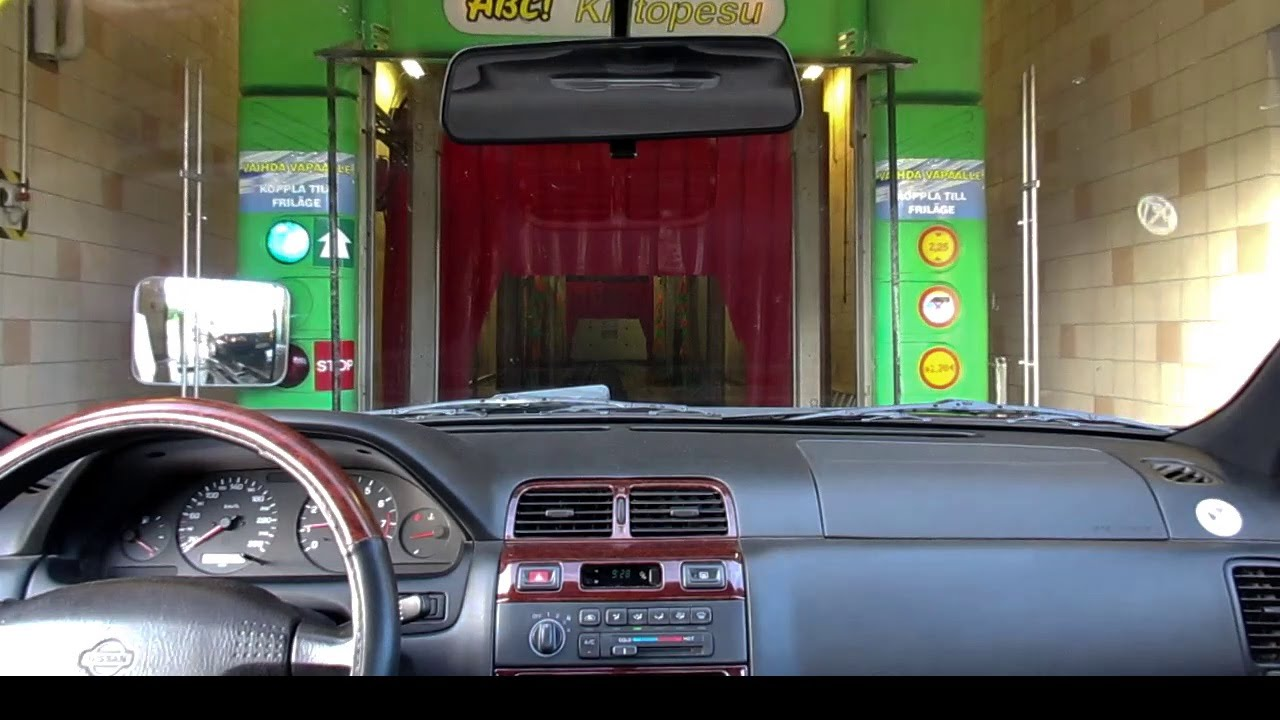 loud tm robojet tunnel car wash inside view youtube. Black Bedroom Furniture Sets. Home Design Ideas