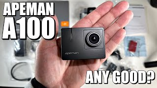 APEMAN A100 - 4K 50FPS - $99 Budget Action Camera - Quick Review + Samples!