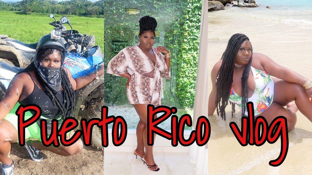TRAVEL VLOG   Girls trip to Puerto Rico ?? House tour , ATVs , shotsss , & More   iamchelsiejane