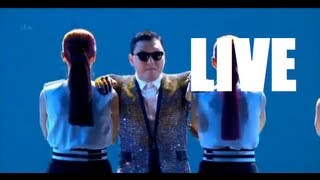 Psy - Gentleman Live performance (in Britain s Got Talent)
