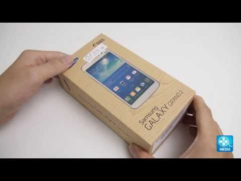 Samsung Galaxy Grand 2: Unboxing