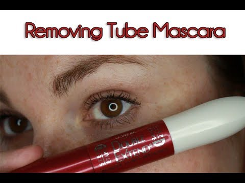 90c2678c150 How To Remove Tube Mascara | Fast & Easy - YouTube