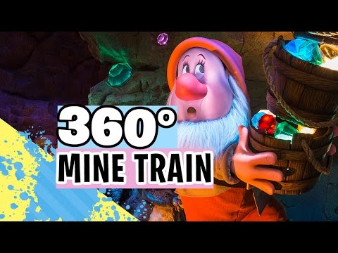 [360° 4K] Seven Dwarfs Mine Train (Full Ride-through) | Walt Disney World