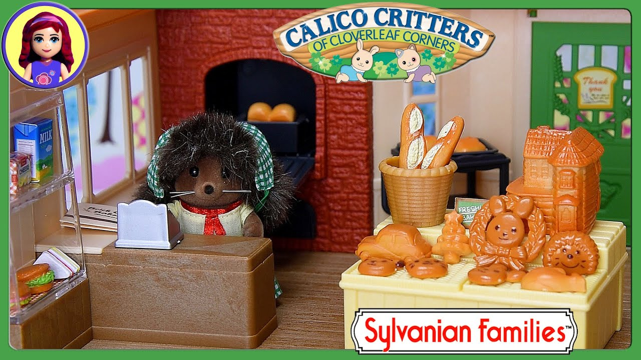 Sylvanian Families Calico Critters Brick Oven Bakery Hedgehog